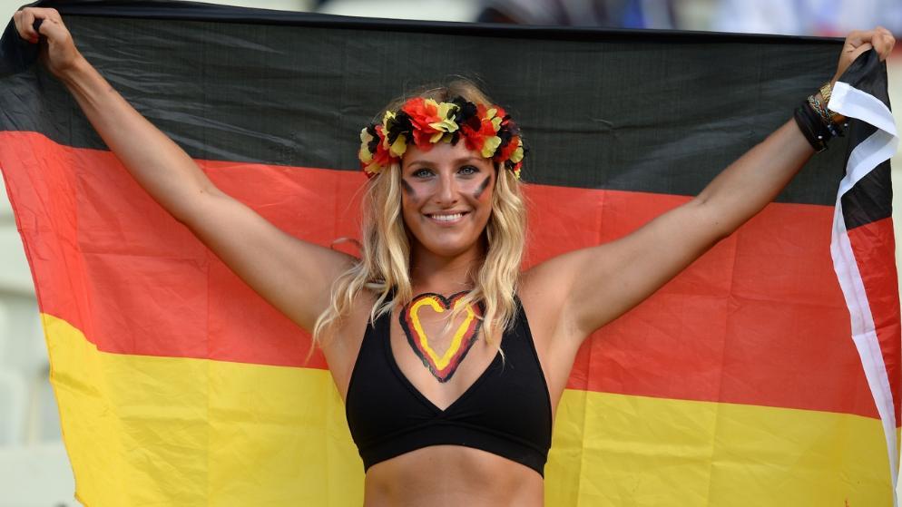 Les plus belles supportrices de la coupe du monde 2014 allemagne