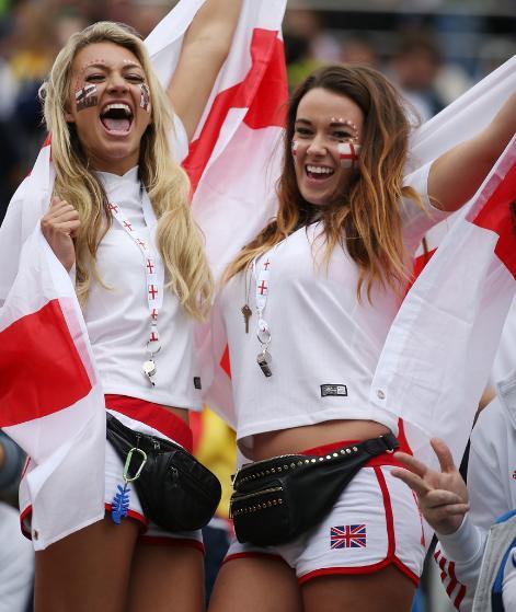 Les plus belles supportrices de la coupe du monde 2014 angleterre