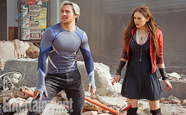 Avengers age of ultron vif argent quicksilver