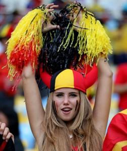 Les plus belles supportrices de la coupe du monde 2014 belgique