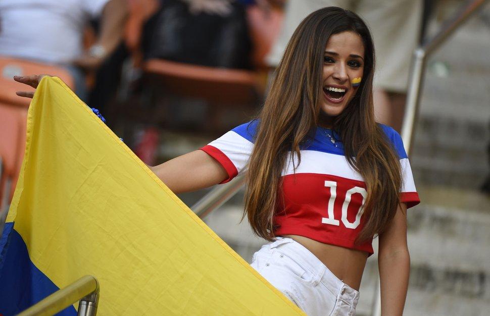 Les plus belles supportrices de la coupe du monde 2014 Etats-unis