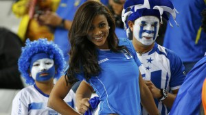 Les plus belles supportrices de la coupe du monde 2014 Honduras