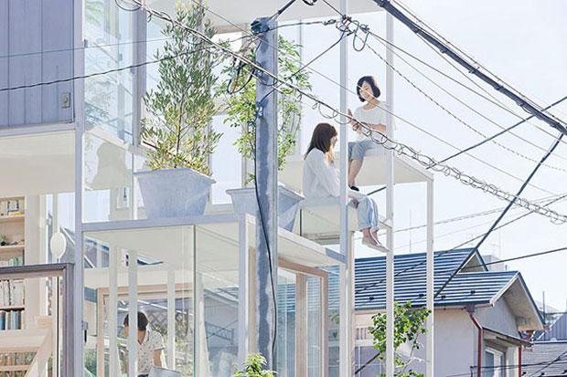 la maison transparente top maisons insolites
