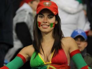 Les plus belles supportrices de la coupe du monde 2014 Portugal