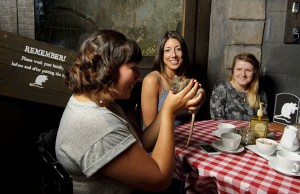 Rat Cafe at the London Dungeon