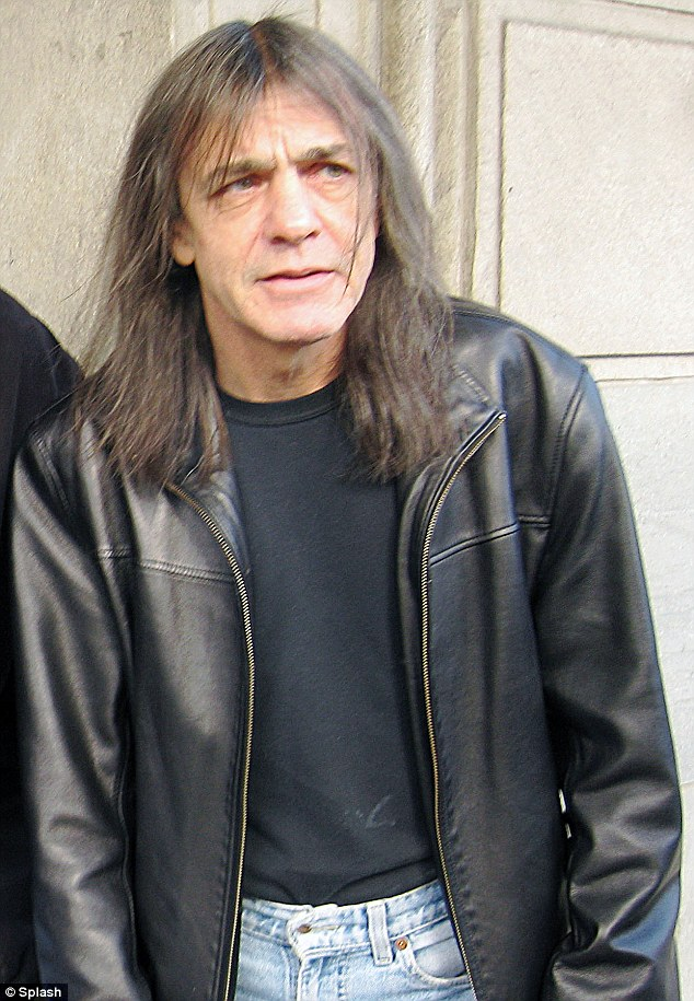 malcolm young malade acdc