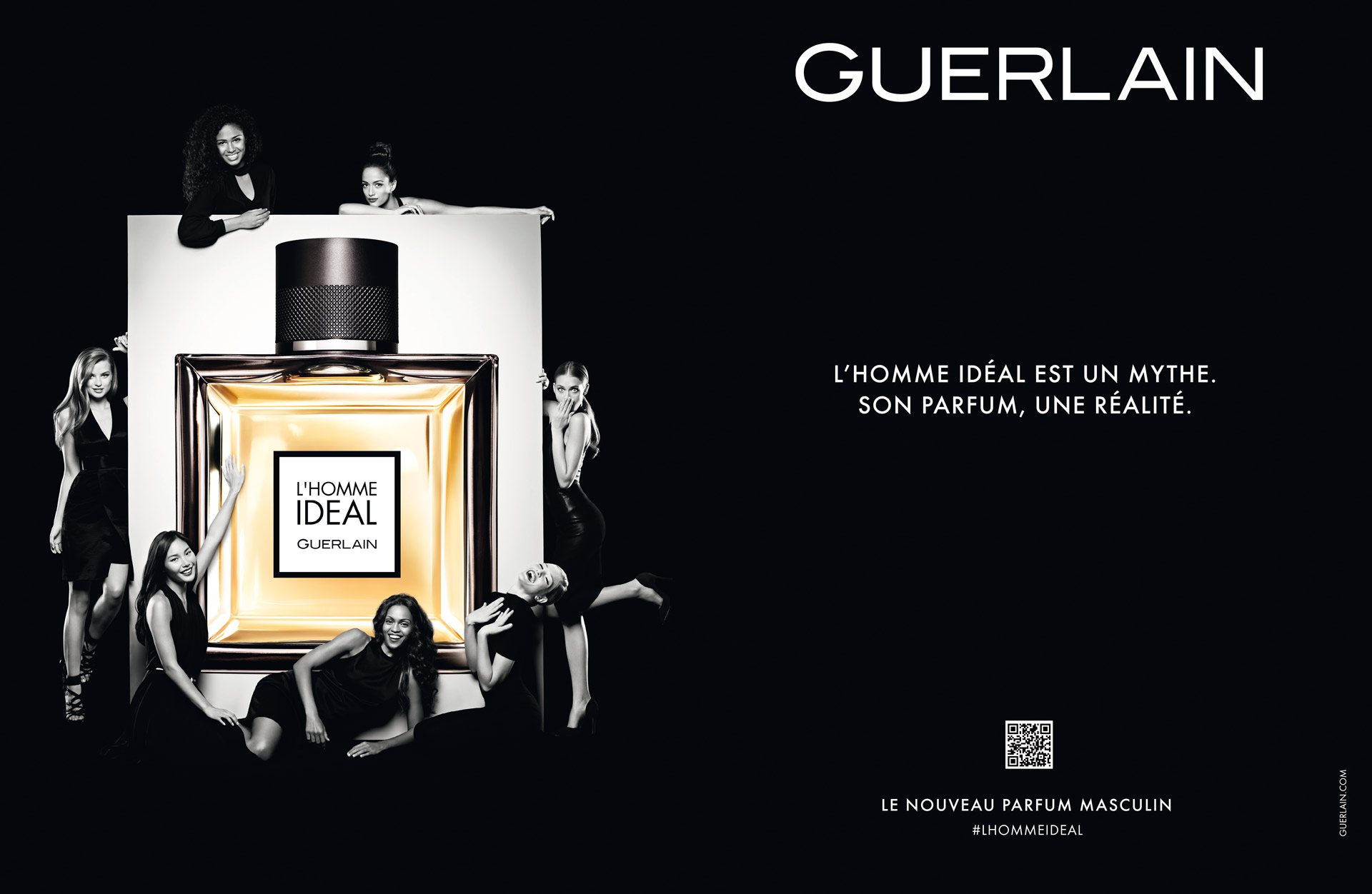 la nouvelle publicit pour le parfum l 39 homme id al de guerlain. Black Bedroom Furniture Sets. Home Design Ideas