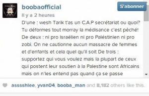 booba gaza instagram tariq ramadan clash 3g
