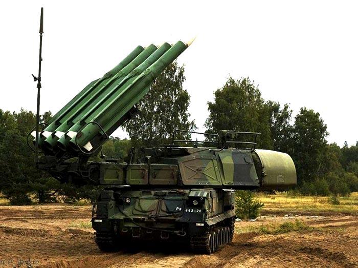 Batterie de missiles Buk