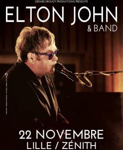 elton john concert lille zenith