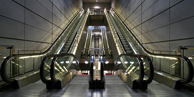 escalator cover
