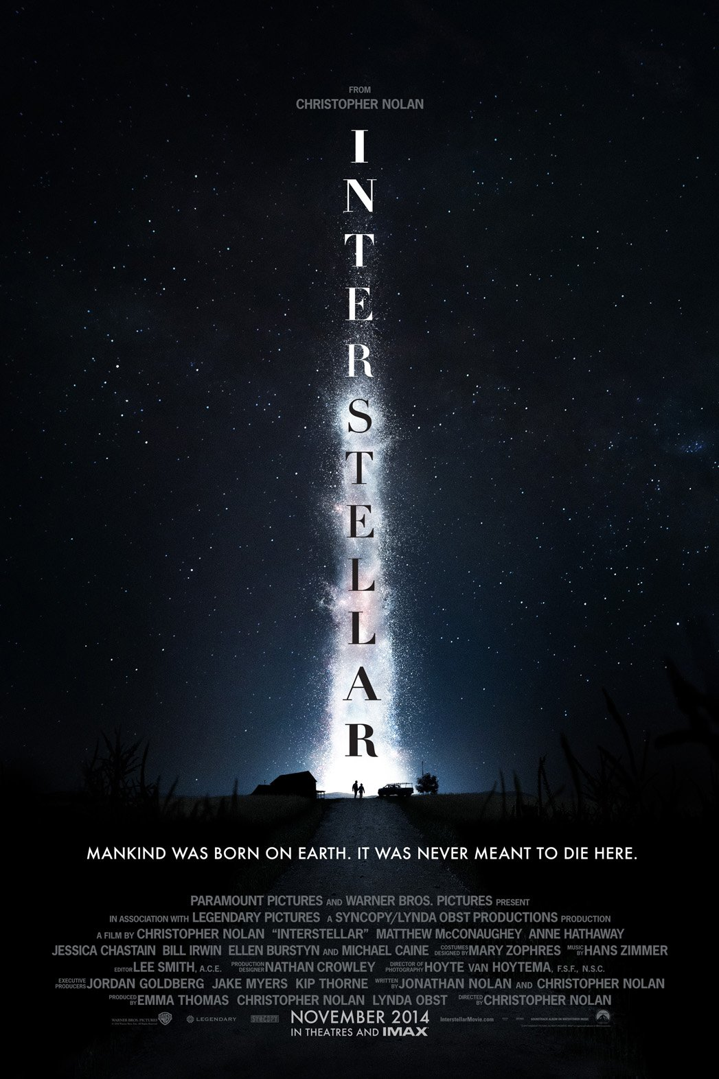 interstellar film trailer