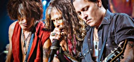 johnny depp concert aerosmith boston