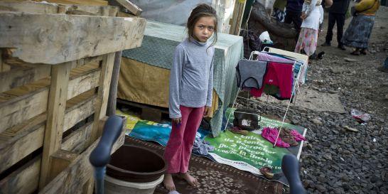 dolescente enlevée camp rom