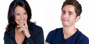 Faustine Bollaert et Guillaume Pley rising star m6