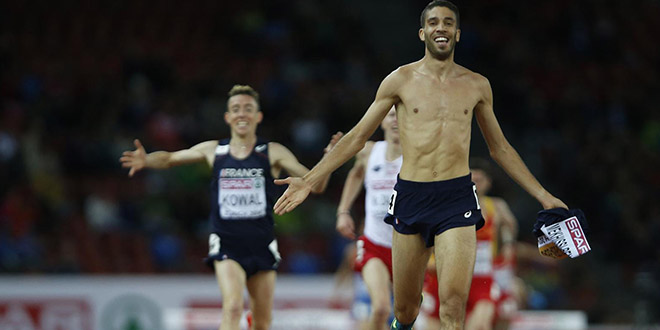 maillot or sanction athletisme france