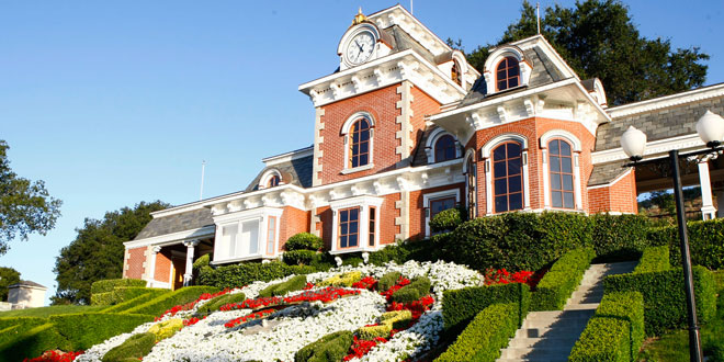 neverland ranch michael jackson mis en vente a vendre