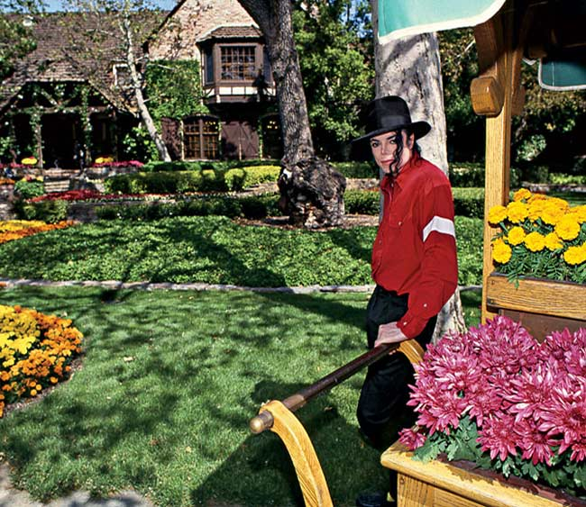 neverland ranch michael jackson mis en vente