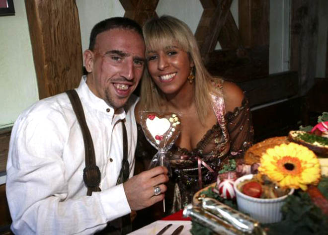 ribery famille