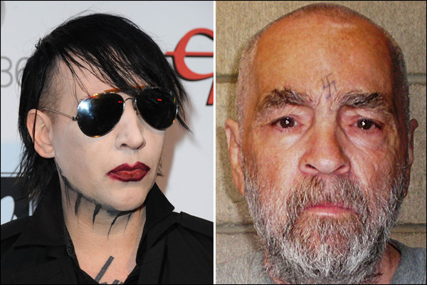 marylin manson charles manson name