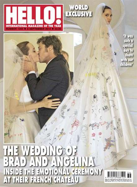 mariage angelina jolie brad pitt 2014 hello