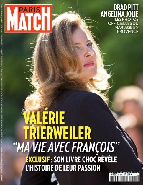 paris match valerie trierweiler