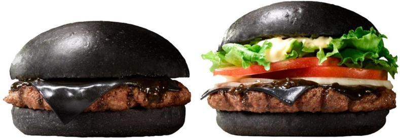hamburger noir modele burger king
