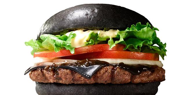 burger king hamburger noir kuro