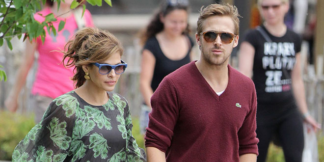 couple eva mendes ryan gosling