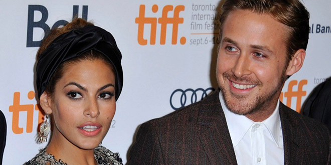 eva mendes ryan gosling couple bebe