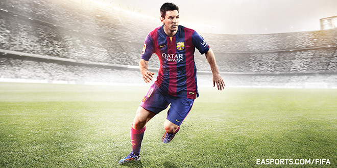 fifa 15 pub barca messi feel the game