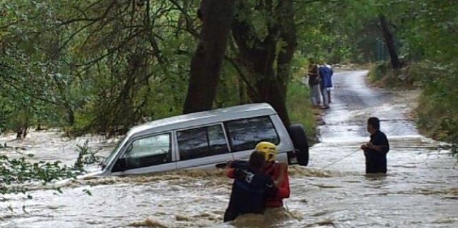 lamalou barrage camping orage