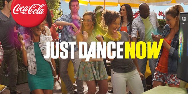 just dance now jeu coca