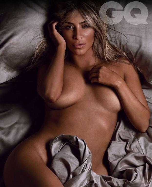 kim kardashian gq magazine nue