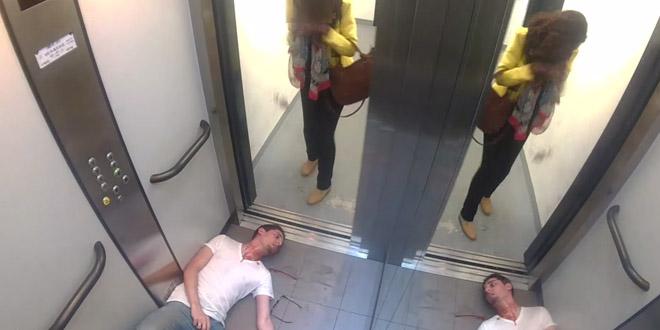 normitube camera cachee meurtre ascenseur