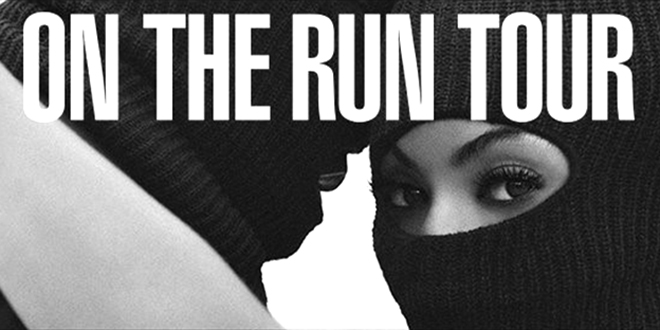 on the run tour cover