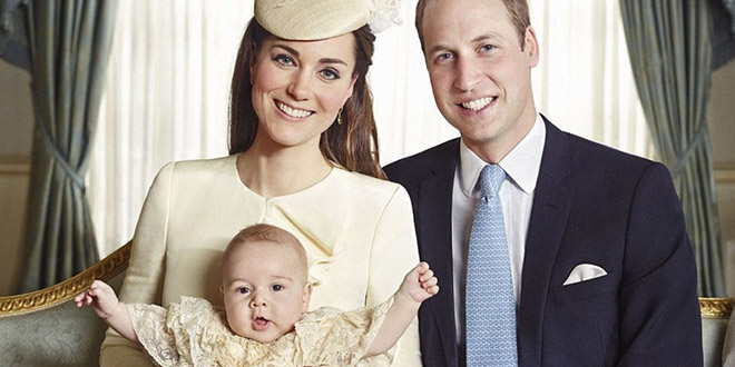 prince william george couple kate middleton