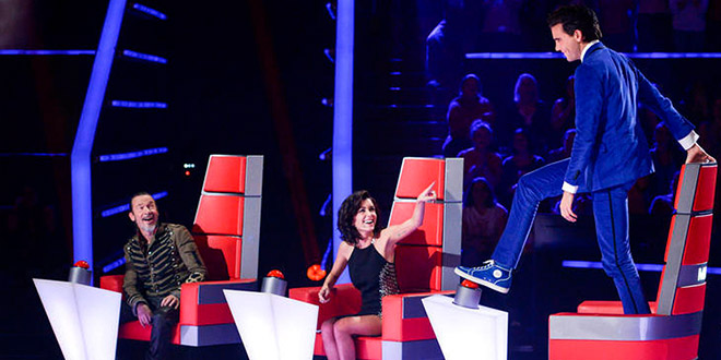 the voice jury mika jenifer florent
