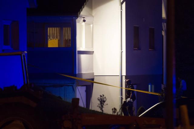 fillette tuee frere garde a vue maison Moernach