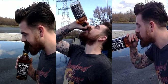 will williams jack daniels alcool cul sec bouteille