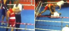 Vido Loncar boxe frappe arbitre croatie