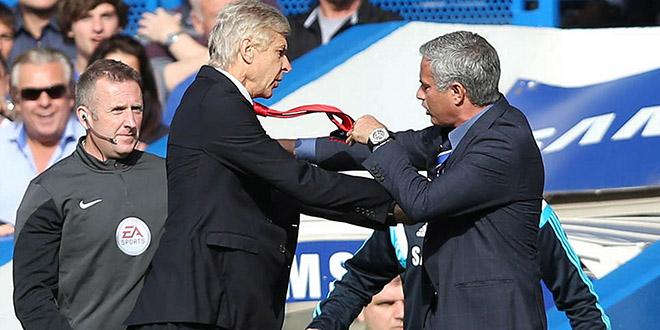 clash wenger mourinho