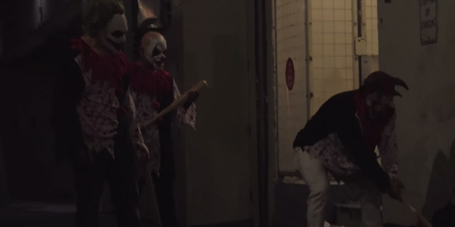clown tueur blague