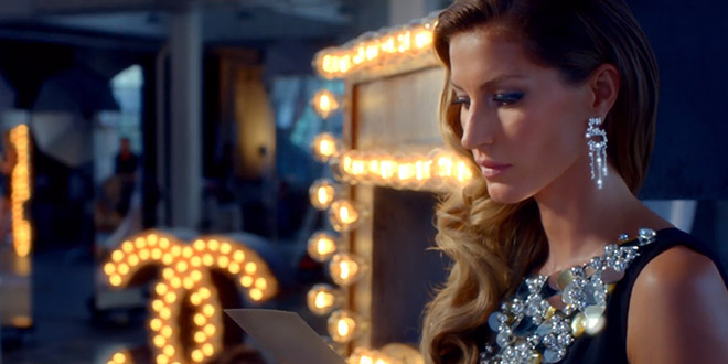 gisele bundchen chanel n5 pub grease