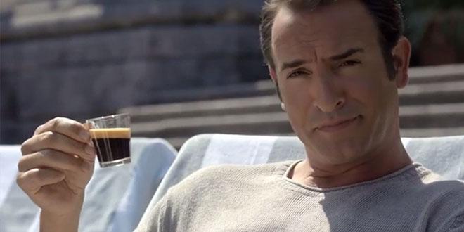 jean dujardin pub nespresso
