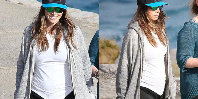 jessica enceinte