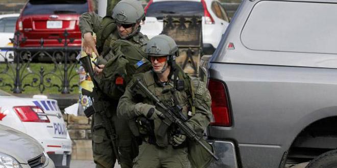 militaire fusillade parlement ottawa