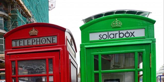 solarbox londres cabine