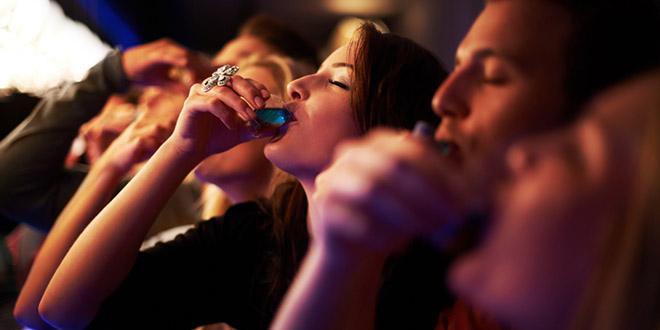 prendre shot alcool