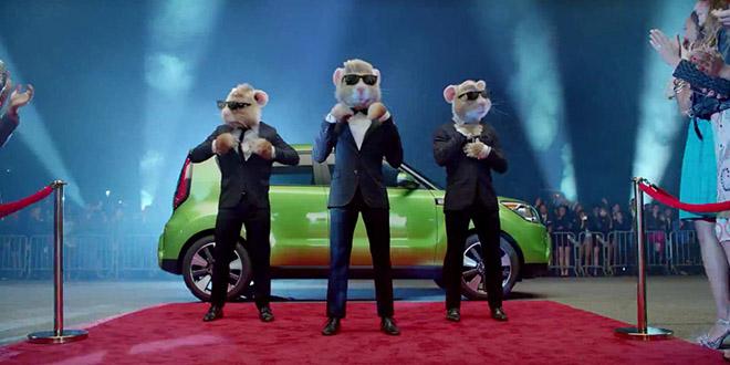 pub voiture kia hamsters